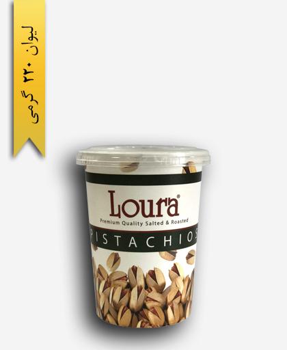 پسته ممتاز 220 گرمی لیوانی - لورا