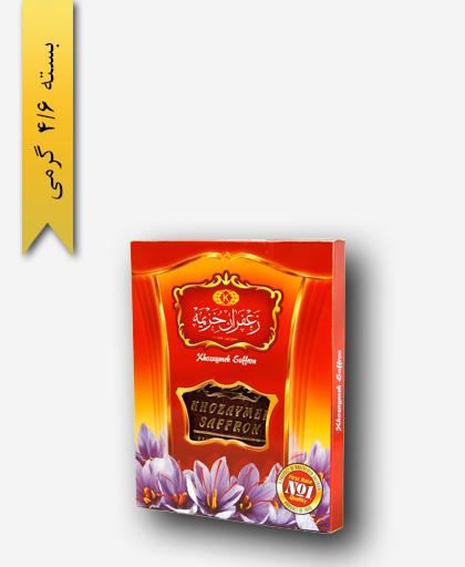 زعفران سر گل 1 مثقالی قوطی - زعفران خزیمه