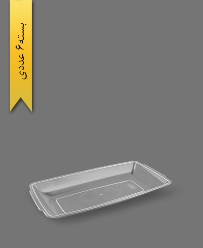دیس 32cm شفاف - ظروف یکبار مصرف آذران ورق
