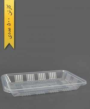 دیس تخت شفاف - ظروف یکبار مصرف آذران ورق