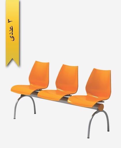 صندلی نیمکتی سه نفره فلورا - آذران تحریرات