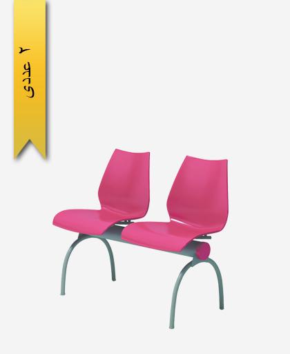صندلی نیمکتی دو نفره فلورا - آذران تحریرات