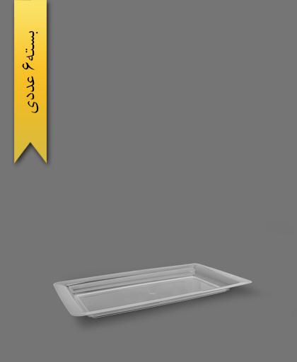 دیس دیپلمات شفاف بزرگ - ظروف یکبار مصرف طب پلاستیک