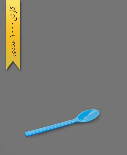 قاشق VIP آبی - ظروف یکبار مصرف طب پلاستیک