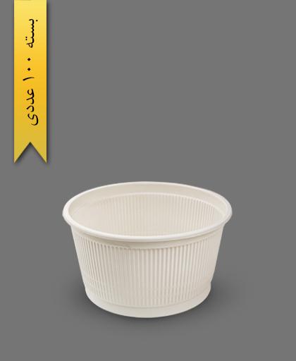 سطل گیاهی 1500 - ظروف گیاهی یکبار مصرف آملون