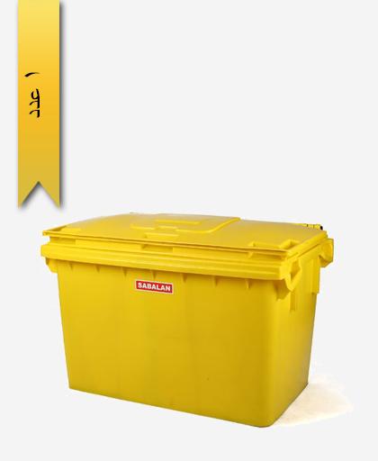 مخزن زباله 460 لیتری کد 200 - مصنوعات پلاستیکی سبلان پلاستیک