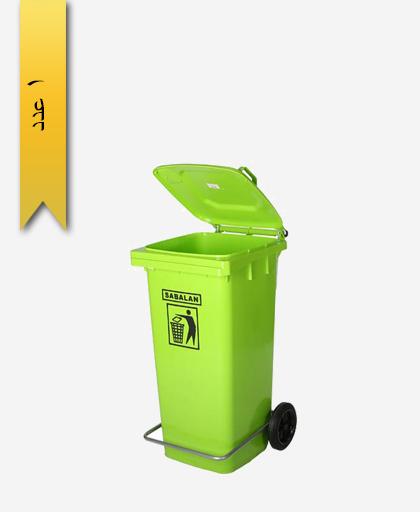 مخزن زباله 240 لیتری کد 201/1 - مصنوعات پلاستیکی سبلان پلاستیک