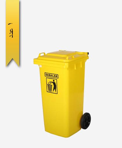 مخزن زباله 80 لیتری کد 203 - مصنوعات پلاستیکی سبلان پلاستیک