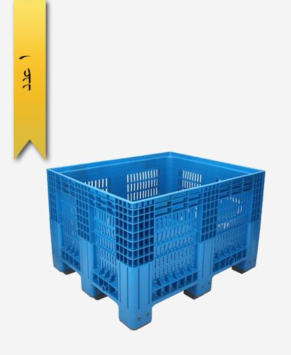 باکس پالت 100 × 120 کد 300 - مصنوعات پلاستیکی سبلان پلاستیک