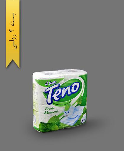 دستمال توالت رنگی معطر - محصولات یکبار مصرف تنو