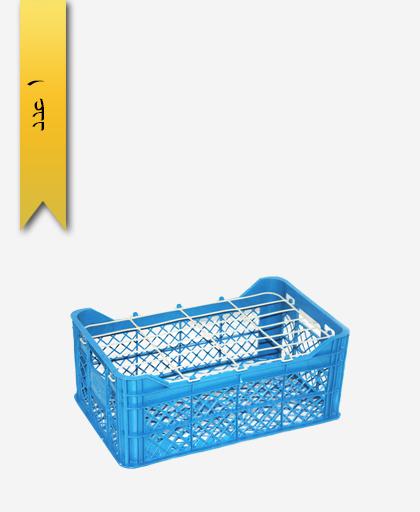 سبد میوه پلاستیکی 12kg کد A - نویان پلاست