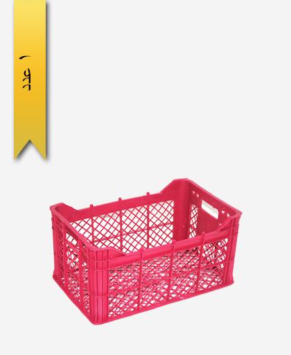 سبد میوه پلاستیکی 17kg کد A - نویان پلاست