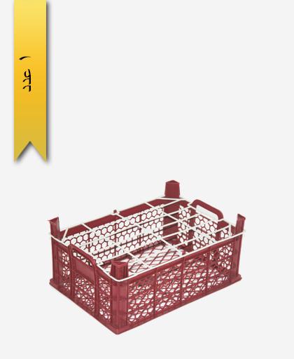سبد میوه پلاستیکی 8kg کد C - نویان پلاست