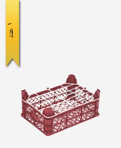 سبد میوه پلاستیکی 3kg کد E - نویان پلاست