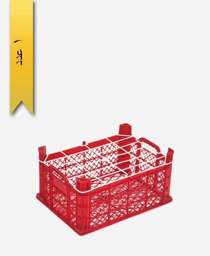 سبد میوه پلاستیکی 7kg کد D - نویان پلاست