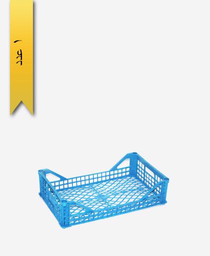 سبد میوه پلاستیکی 6kg کد G - نویان پلاست