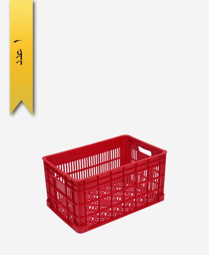 سبد میوه پلاستیکی 20kg کد H - نویان پلاست