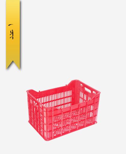 سبد میوه پلاستیکی 25kg کد H - نویان پلاست