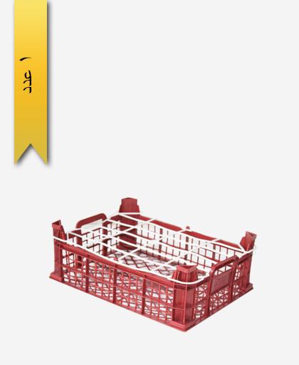 سبد میوه پلاستیکی 7kg کد M - نویان پلاست