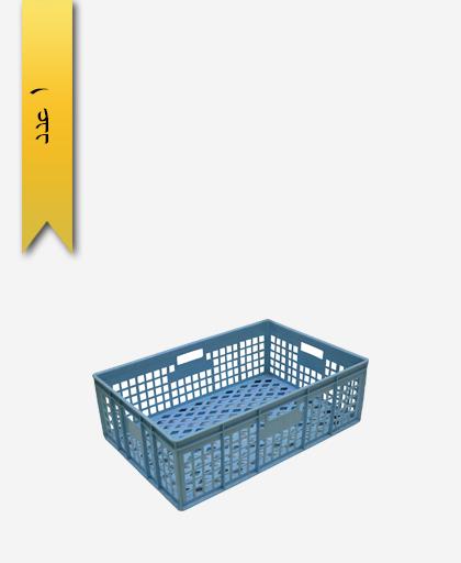 سبد لبنیاتی پلاستیکی کد 104 - نویان پلاست