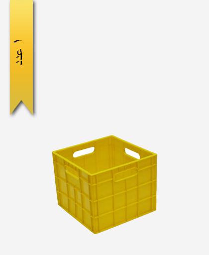 سبد لبنیاتی پلاستیکی کد 115 - نویان پلاست