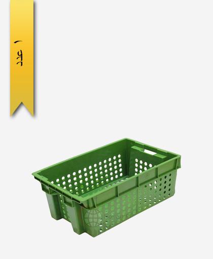 سبد لبنیاتی پلاستیکی کد 107 - نویان پلاست