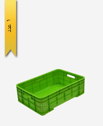 سبد لبنیاتی پلاستیکی کد 108 - نویان پلاست