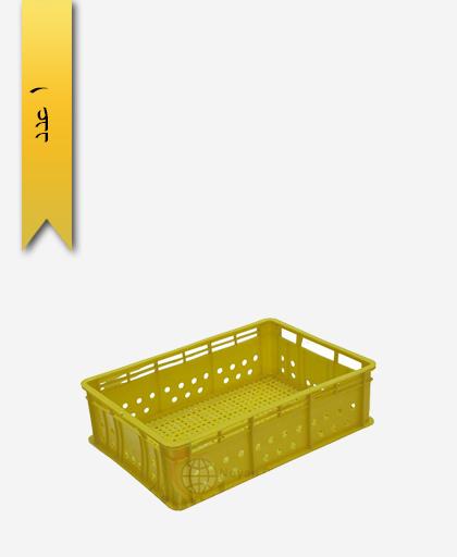 سبد لبنیاتی پلاستیکی کد 119 - نویان پلاست