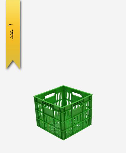 سبد لبنیاتی پلاستیکی کد 109 - نویان پلاست