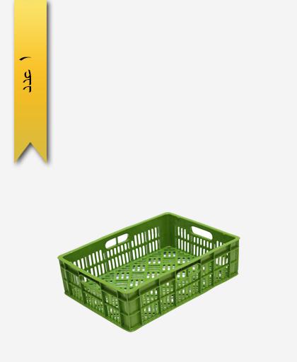 سبد لبنیاتی پلاستیکی کد 118 - نویان پلاست