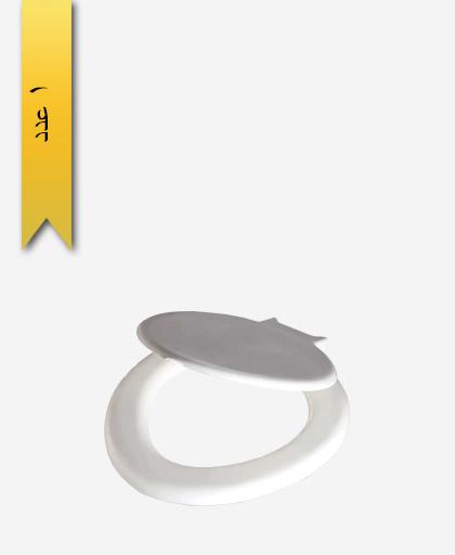 درب توالت فرنگی کد 164 مدل آبيدر - سنی پلاستیک