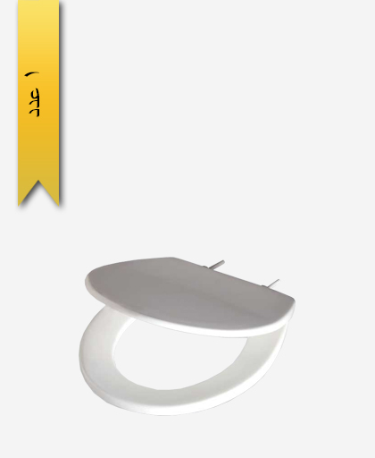 درب توالت فرنگی کد 165 مدل ميلان - سنی پلاستیک
