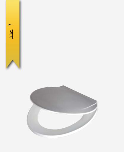 درب توالت فرنگی کد 168 مدل رزالين - سنی پلاستیک
