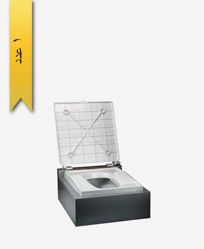 درب توالت زمينی بدون پدال کد 175 - سنی پلاستیک