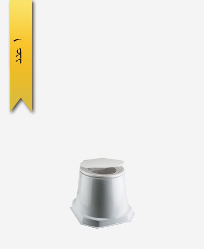 توالت فرنگی سيار اليزه کد 649 بدون بيده - سنی پلاستیک
