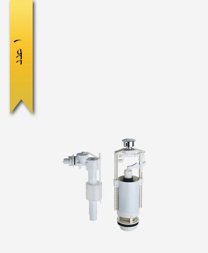 مکانيزم توالت فرنگی کد 365 مدل سنی فلاش - سنی پلاستیک