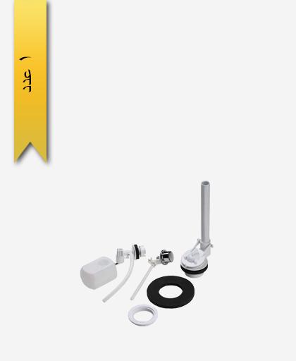 مکانيزم توالت فرنگی کد 376 مدل کاترينا فشاری دو تکه - سنی پلاستیک