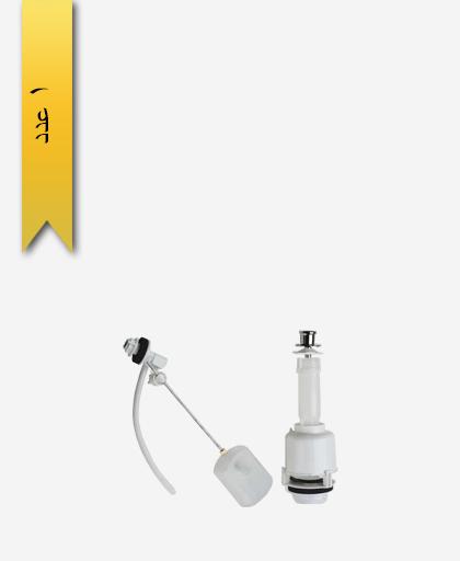 مکانيزم توالت فرنگی کد 362 مدل پاریس کششی - سنی پلاستیک