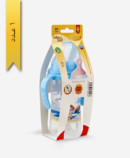 شیشه شیر خوری 300ml دهانه عریض 407 - بی بی لند baby land
