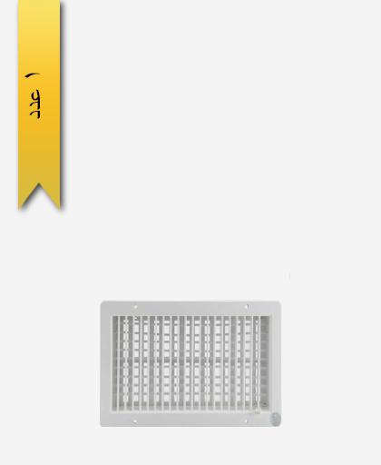 دريچه کولر کد 969 دمپر 40×20 - سنی پلاستیک