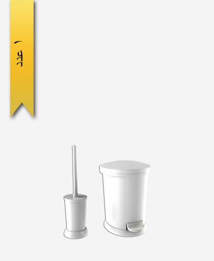 سطل و برس کد 4271 مدل ساتين - سنی پلاستیک