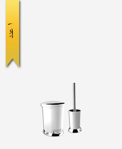 سطل و برس کد 4275 مدل ساتين - سنی پلاستیک