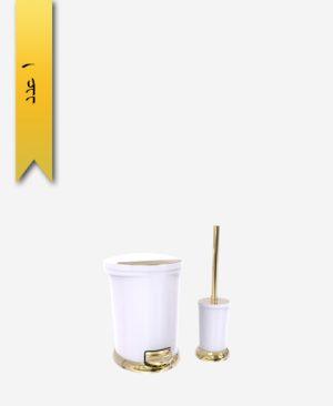 سطل و برس کد 4276 مدل ساتين - سنی پلاستیک