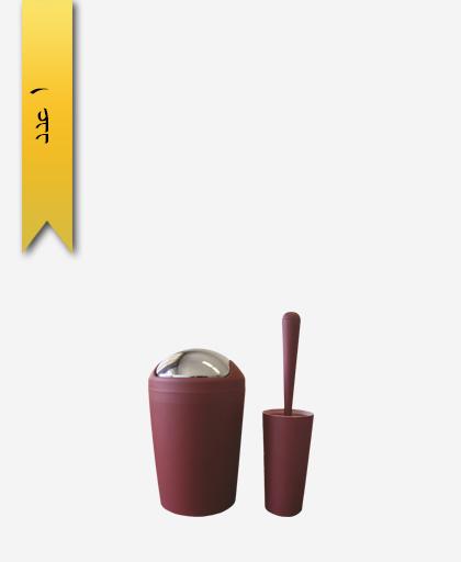 سطل و برس کد 4806 مدل سولان - سنی پلاستیک
