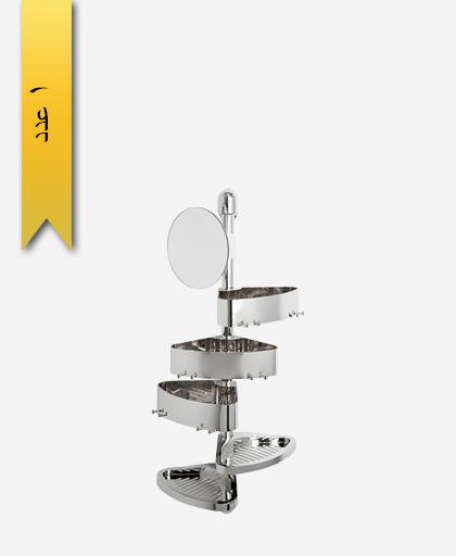 ست گوشه حمام کد 6853 مدل ياسمين - سنی پلاستیک