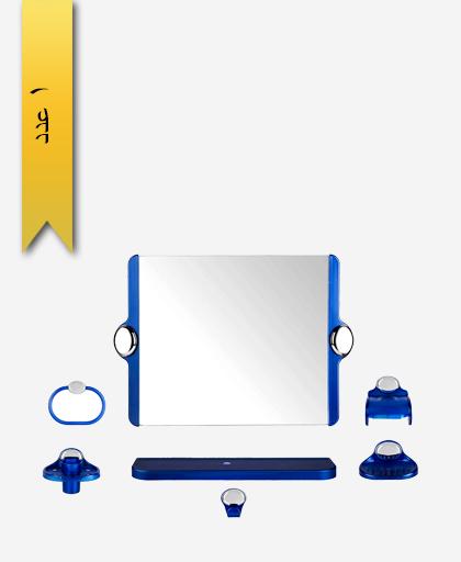 سرويس دستشویی 7 پارچه کد 901 مدل گلستان - سنی پلاستیک