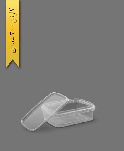ظرف مایکروویو ML400 با درب - طب پلاستیک