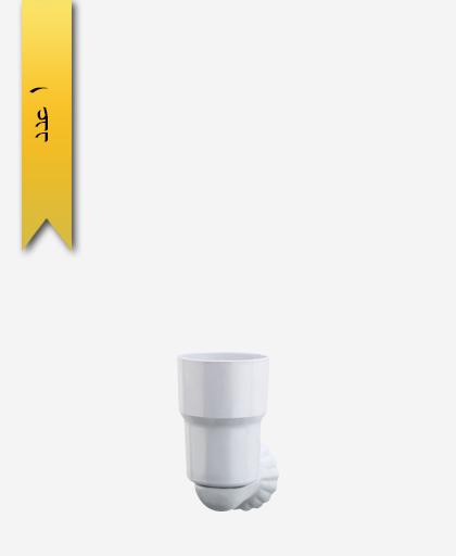 جا مسواک و خمیر دندان کد 443 مدل صدفی - سنی پلاستیک