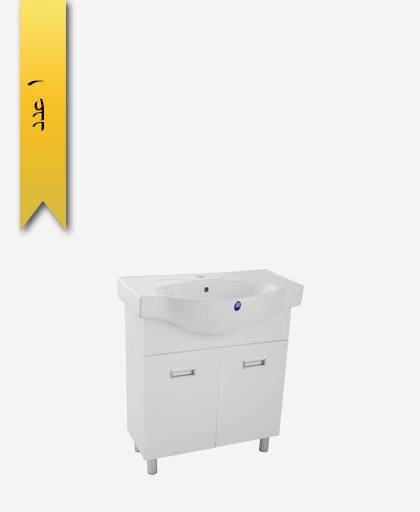 کابينت کشودار دستشویی کد 212 مدل کاسنو سایز 72 - سنی پلاستیک