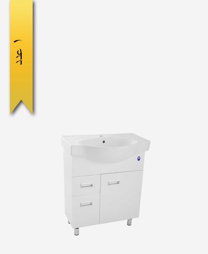 کابينت کشودار دستشویی کد 208 مدل کاسنو سایز 72 - سنی پلاستیک